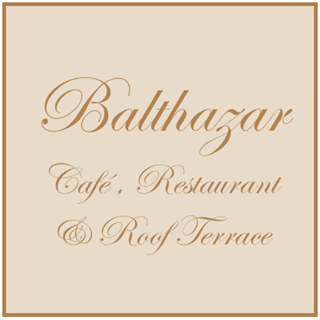 Balthazar Café & Roof Terrace Logo Image on XploreCyprus