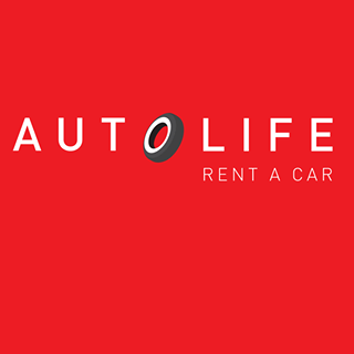 AUTO LIFE Rent a Car Logo Image on XploreCyprus