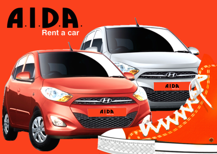 Places To Rent A Car: AIDA Car Rental