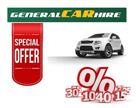 General Car Hire Cover Image on XploreCyprus