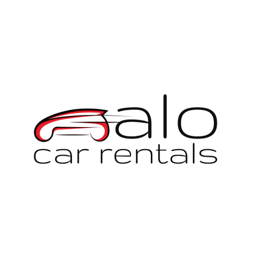 Alo Car Rentals In Larnaca Logo Image on XploreCyprus