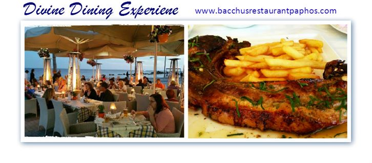 Bacchus Restaurant Cafe Cover Image on XploreCyprus