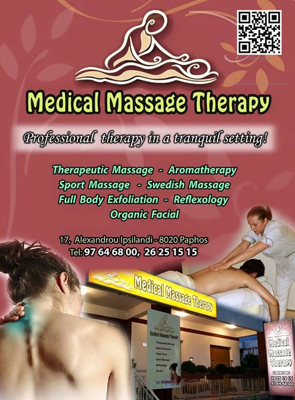 Medical Massage Therapy Cover Image on XploreCyprus