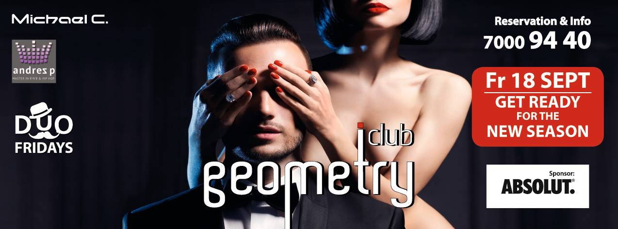 Geometry Club Cover Image on XploreCyprus