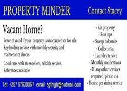 Property and Pet MInder Cover Image