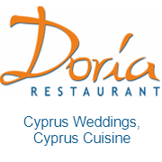 Doria Beach Restaurant Logo Image on XploreCyprus