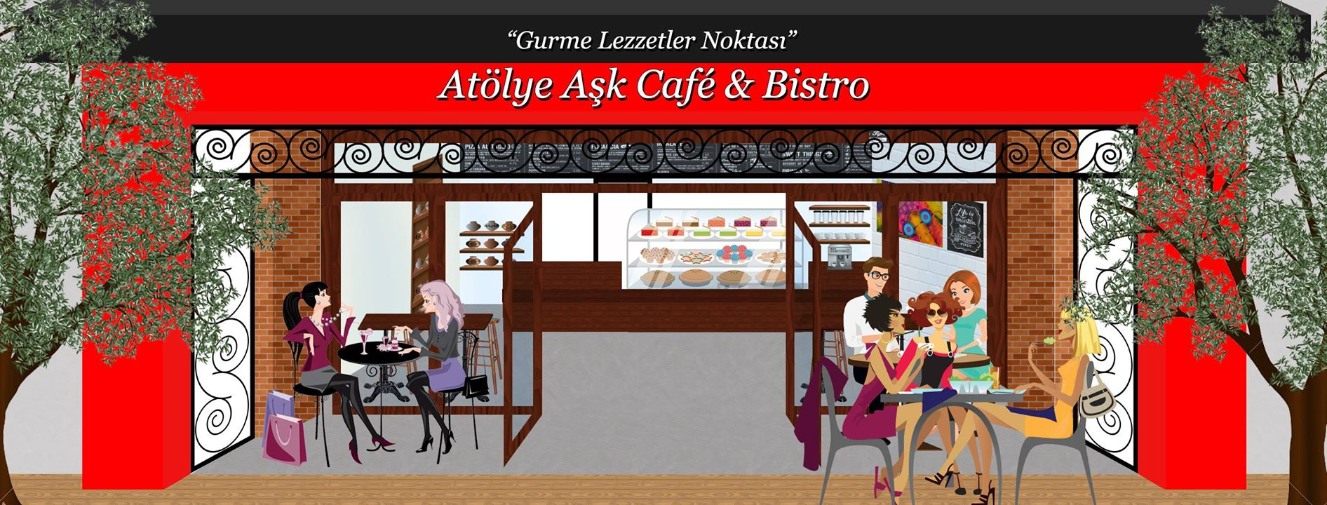 Atölye Aşk Cafe & Bistro Cover Image on XploreCyprus