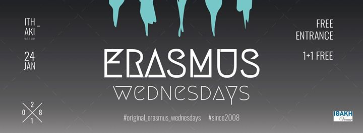 Erasmus Wednesdays Party  Welcome Days Event Image