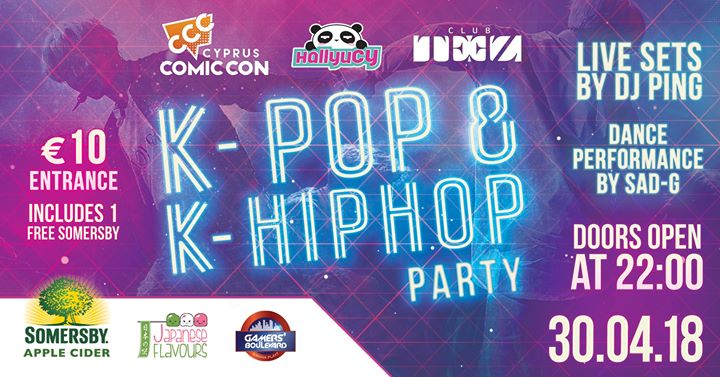 K POP & K Hiphop Party Image