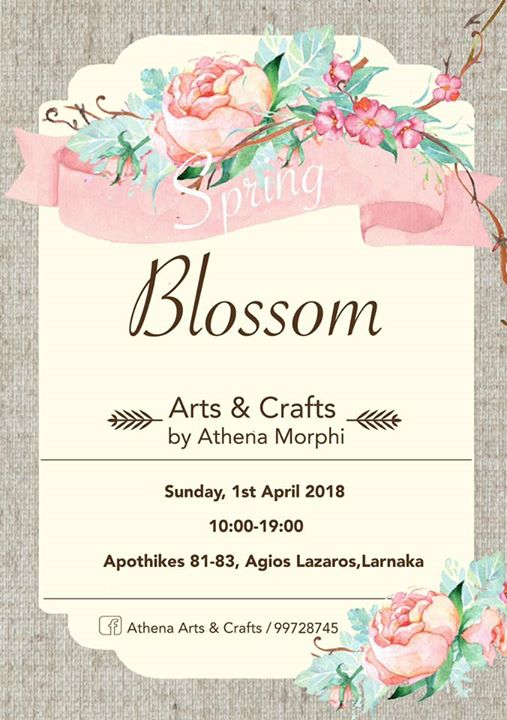 Blossom Art & Crafts by Athena Morphi Event Image