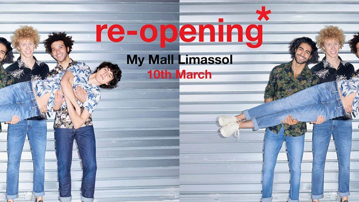 celio My Mall Limassol – Store Reopening Event Image