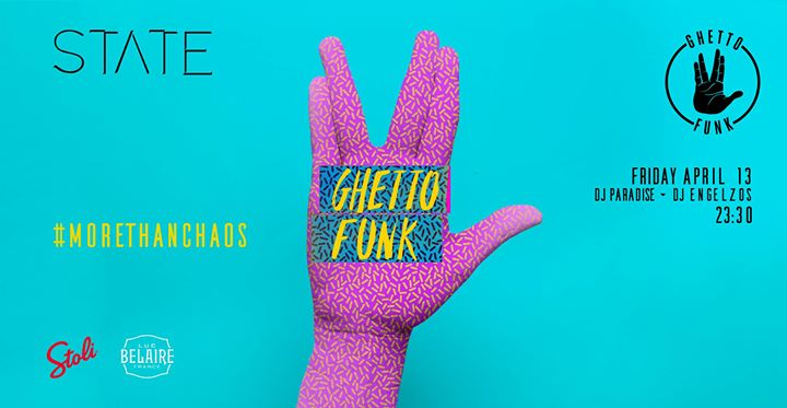 Ghetto Funk At Night Friday 13 April Event Image
