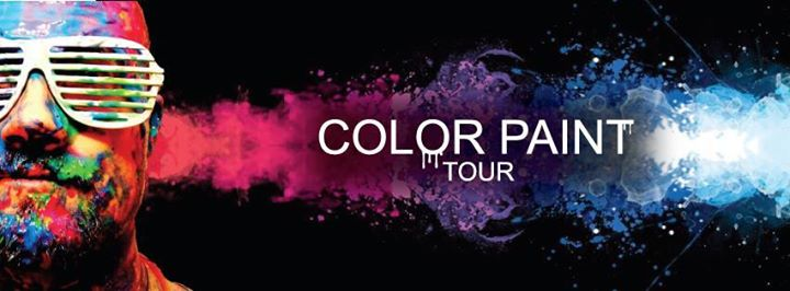 COLOR PAINT TOUR | Paint Glow Beach Party Image