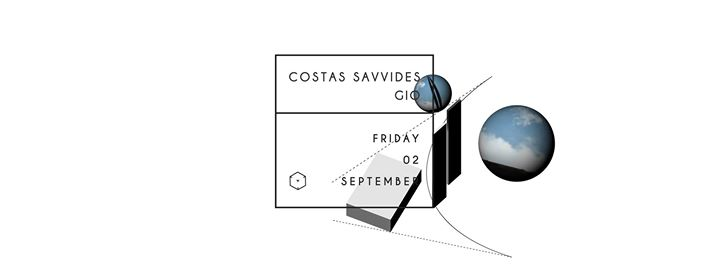 Costas Savvides + Gio | Friday | Square Event Image