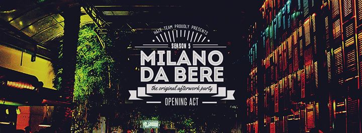 Commentari d 39 appendice for Milano da bere locali