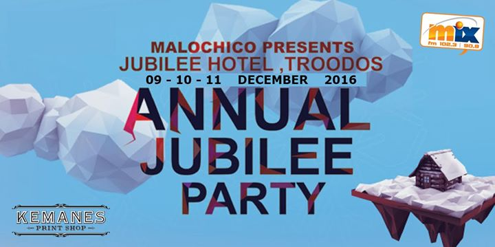 Malochico pre the Annual Jubilee VIP PARTY Vol4 (9 10 11 Dec 16) Event Image
